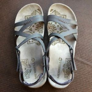 2f7b9255631b Merrell Shoes - Merrell Sandspur Rose Leather Sandal - NEW